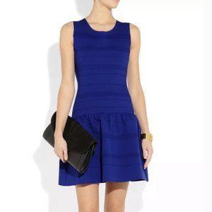 Maje madison royal blue knit dress XS